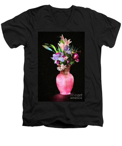 Flowers 4 Men's V-Neck T-Shirt