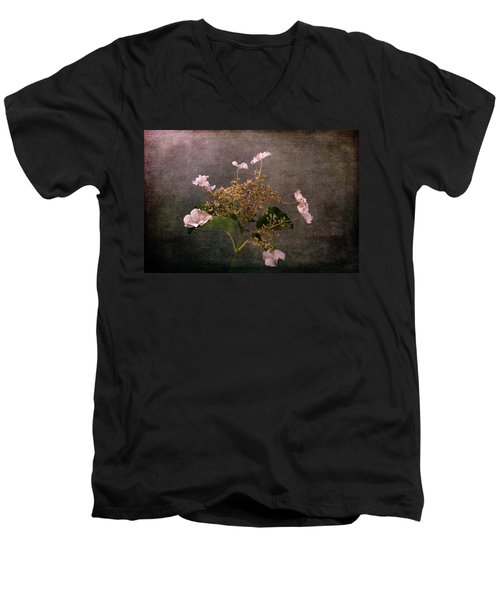 Men's V-Neck T-Shirt featuring the photograph Flowers For The Mind by Randi Grace Nilsberg