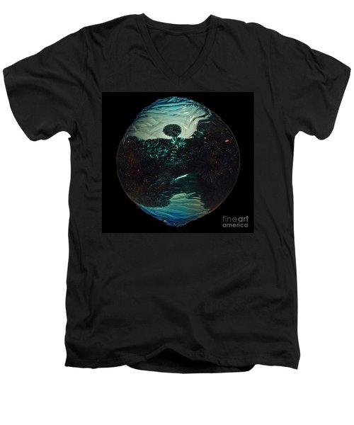 Fluid Evolution Men's V-Neck T-Shirt