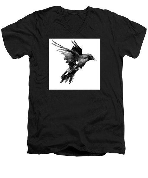 Flying Raven Men's V-Neck T-Shirt