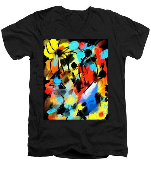 Flysquid Dream Men's V-Neck T-Shirt