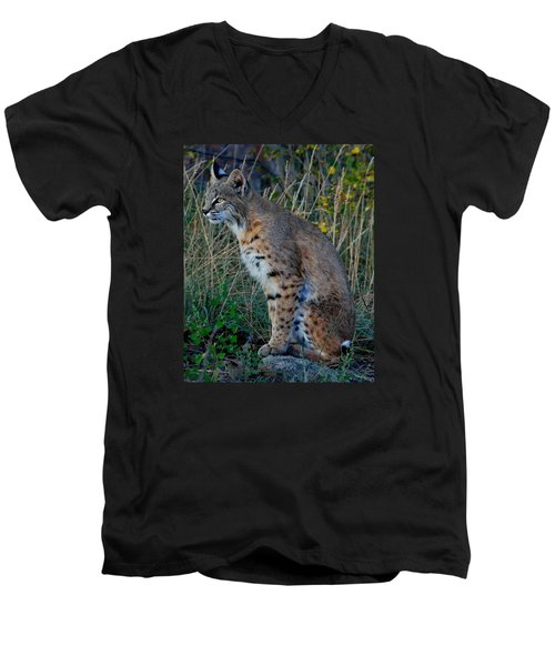 Focused On The Hunt 2 Men's V-Neck T-Shirt