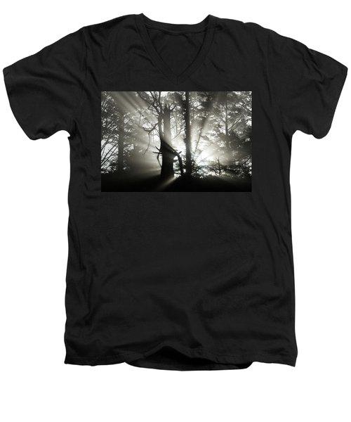 Foggy Flares Men's V-Neck T-Shirt