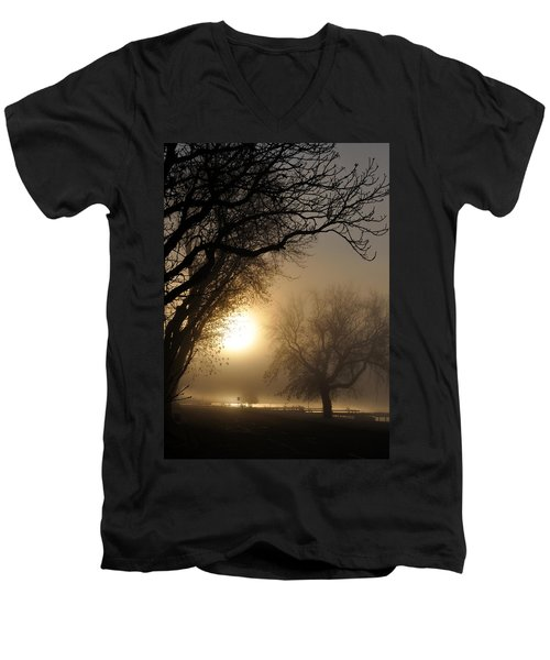 Foggy Morn Men's V-Neck T-Shirt