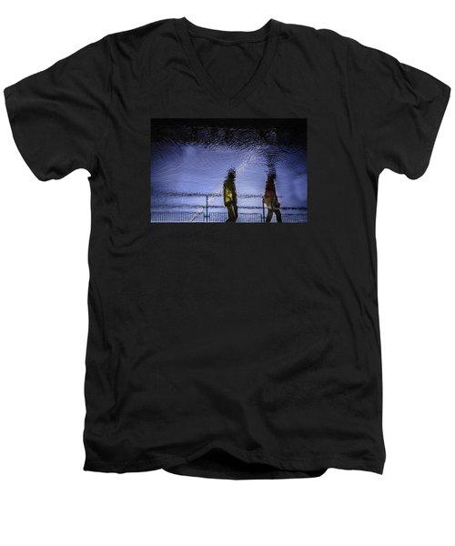 Following Men's V-Neck T-Shirt