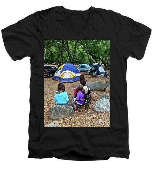 Fond Memories Men's V-Neck T-Shirt