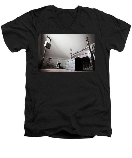 Foot Of The Bed Men's V-Neck T-Shirt