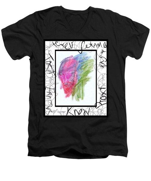 For Alan Men's V-Neck T-Shirt