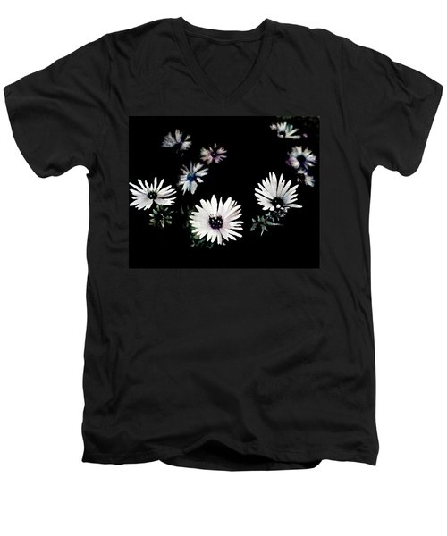 For You Men's V-Neck T-Shirt by Arleana Holtzmann