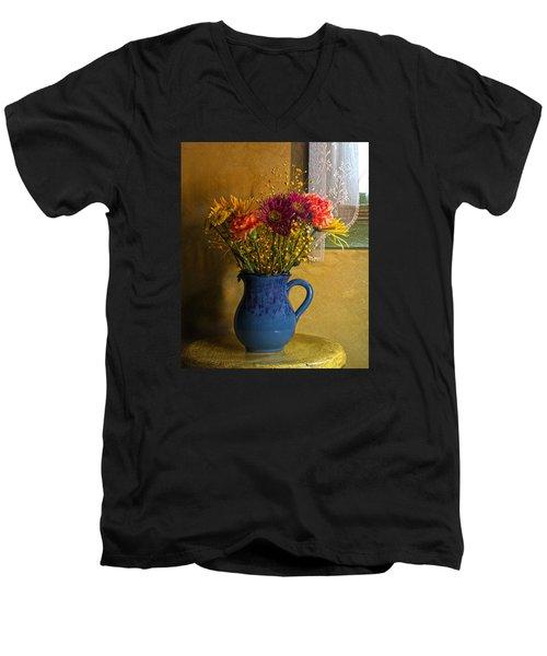 For You Men's V-Neck T-Shirt by Robert Och
