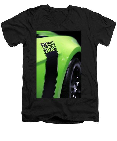 Ford Mustang - Boss 302 Men's V-Neck T-Shirt