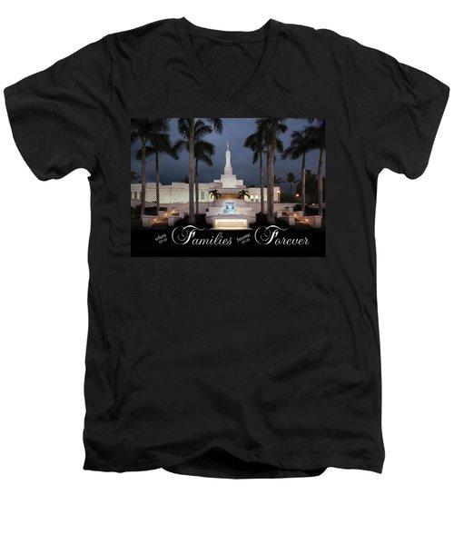 Forever Families Men's V-Neck T-Shirt