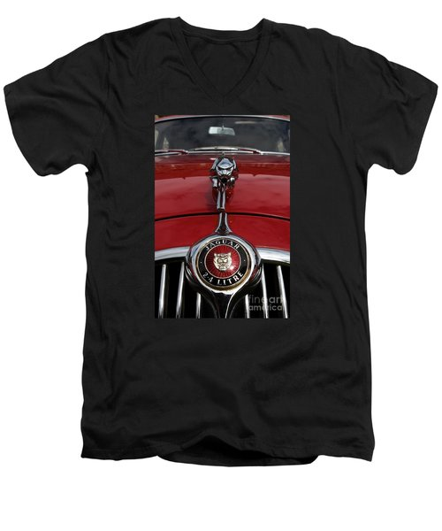 Men's V-Neck T-Shirt featuring the photograph Forever by Gary Bridger