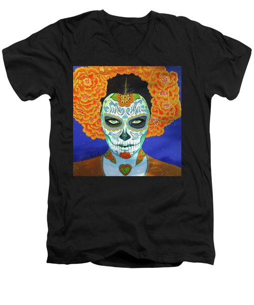 Forget Me Not Men's V-Neck T-Shirt