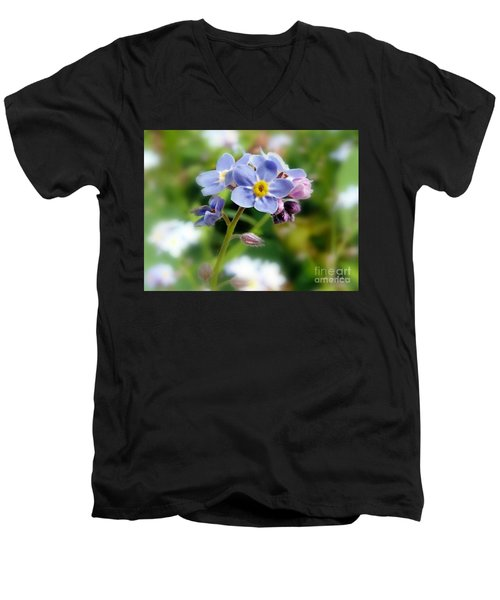 Forget-me-not Men's V-Neck T-Shirt