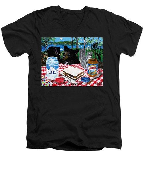 Forgotten Fluffernutter Men's V-Neck T-Shirt
