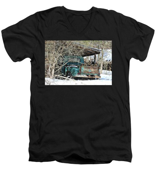 Forgotten Truck Men's V-Neck T-Shirt