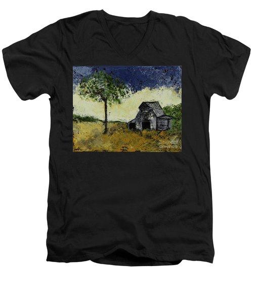 Forgotten Yesterday Men's V-Neck T-Shirt by Kirsten Reed