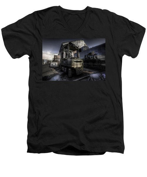 Forklift Men's V-Neck T-Shirt