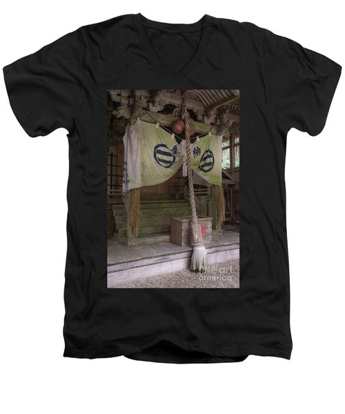 Forrest Shrine, Japan 4 Men's V-Neck T-Shirt