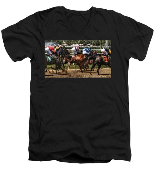 Forty Mph Men's V-Neck T-Shirt