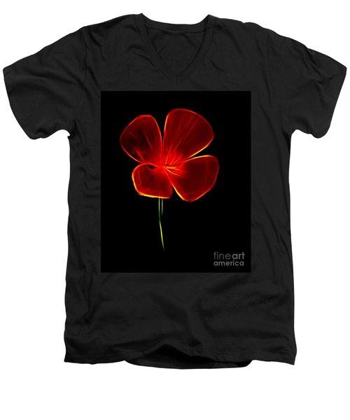 Four Petals Men's V-Neck T-Shirt