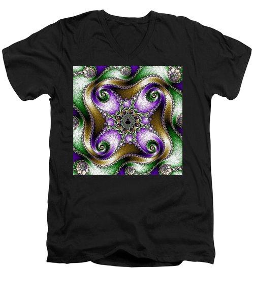 Four Sacred Directions Men's V-Neck T-Shirt