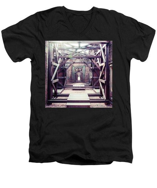 Framework Men's V-Neck T-Shirt