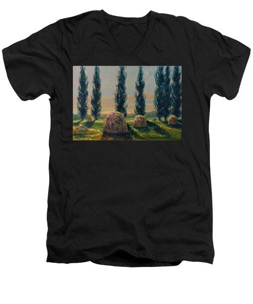 France Iv Men's V-Neck T-Shirt by Rick Nederlof