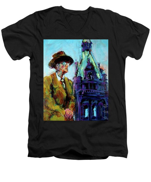 Frank Zeidler Men's V-Neck T-Shirt