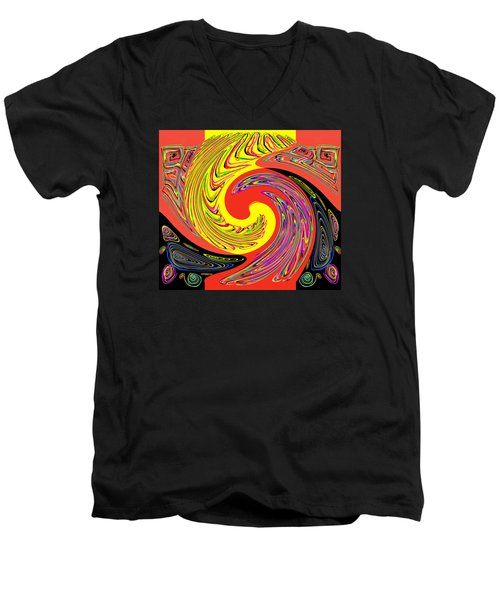 Frantic Life Men's V-Neck T-Shirt