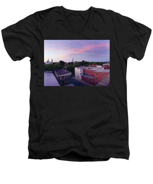 Twi Lights Men's V-Neck T-Shirt