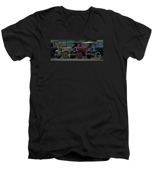 Free Parking Men's V-Neck T-Shirt