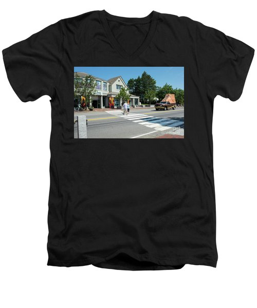Freeport, Maine #130398 Men's V-Neck T-Shirt