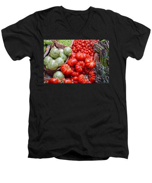 Fresh Vegetables Men's V-Neck T-Shirt