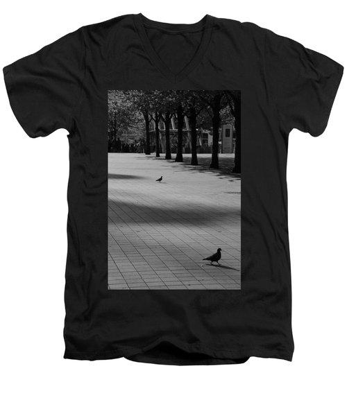 Friend Or Foe Men's V-Neck T-Shirt