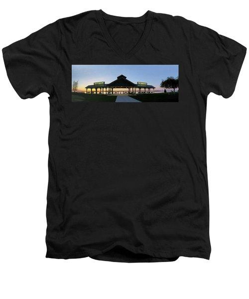 Frink Park Clayton Men's V-Neck T-Shirt