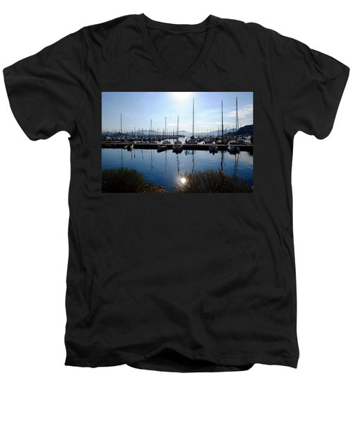 Frioul Island Sailing Resort Men's V-Neck T-Shirt
