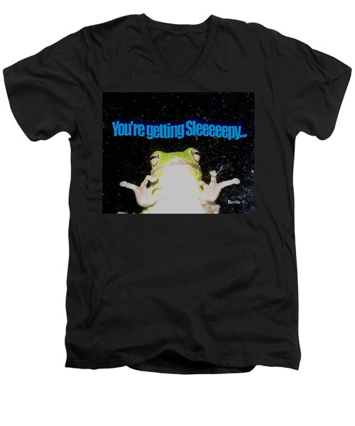 Frog  You're Getting Sleeeeeeepy Men's V-Neck T-Shirt