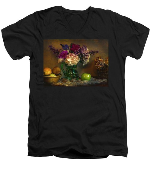 From The Garden To The Table Men's V-Neck T-Shirt