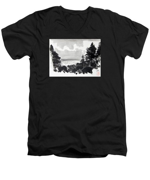 From The Hill Men's V-Neck T-Shirt