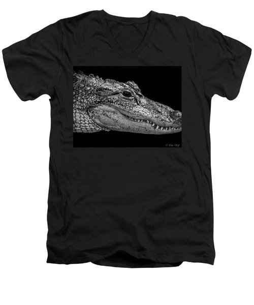From The Series I Am Gator Number 9 Men's V-Neck T-Shirt