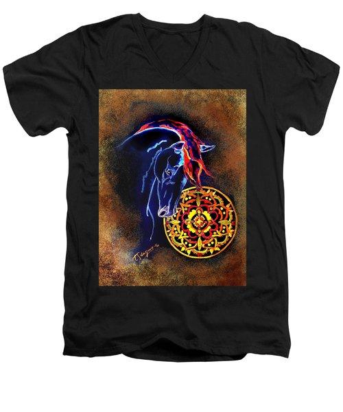 Fron The Orient Men's V-Neck T-Shirt