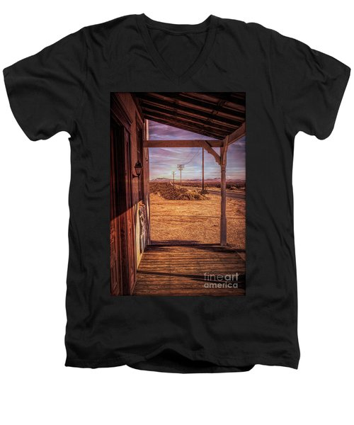Front Porch Men's V-Neck T-Shirt