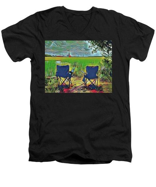 Front Row Seat Men's V-Neck T-Shirt