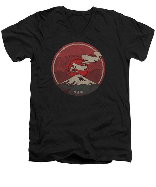 Fuji Men's V-Neck T-Shirt