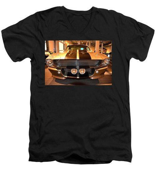 Full Frontal Men's V-Neck T-Shirt