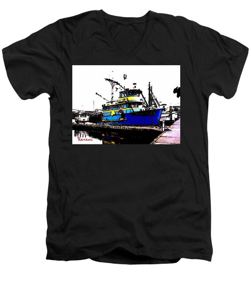 F V Sadi Marie Men's V-Neck T-Shirt