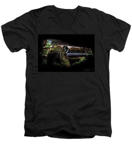 Galaxie Tree Bromance Men's V-Neck T-Shirt