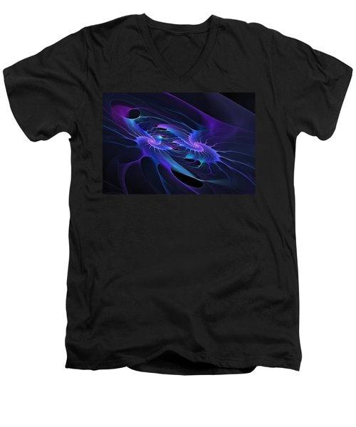 Galaxy Merger Men's V-Neck T-Shirt
